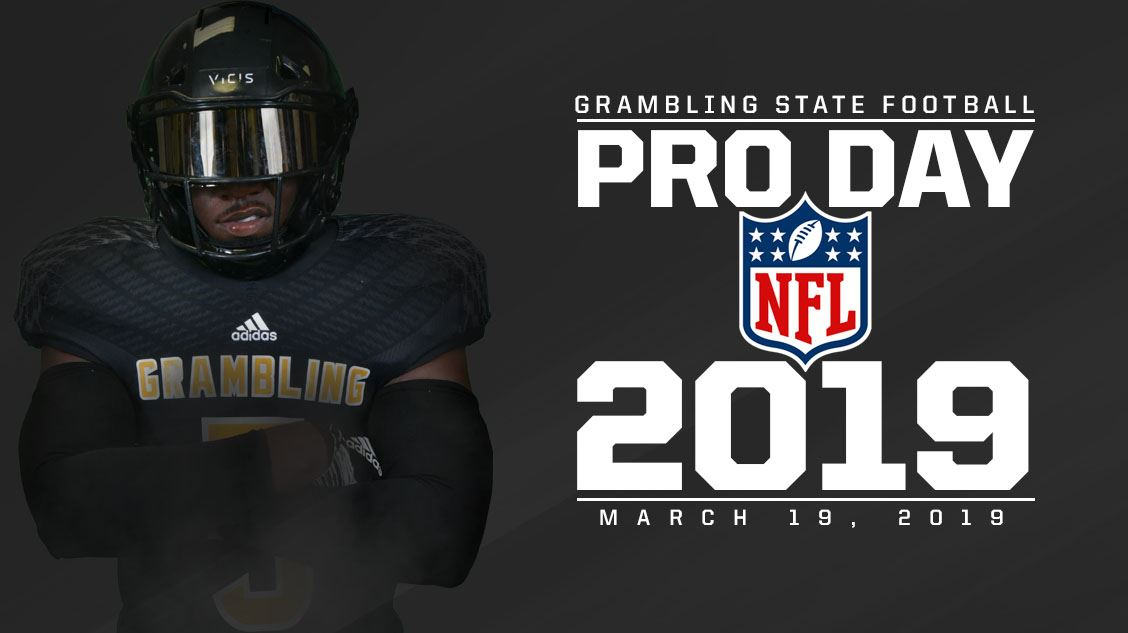 Grambling State Sets Pro Day For March 19 Grambling State